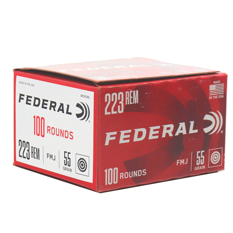Federal American Eagle 223 Remington Ammo 55 Grain Full Metal Jacket Value Pack