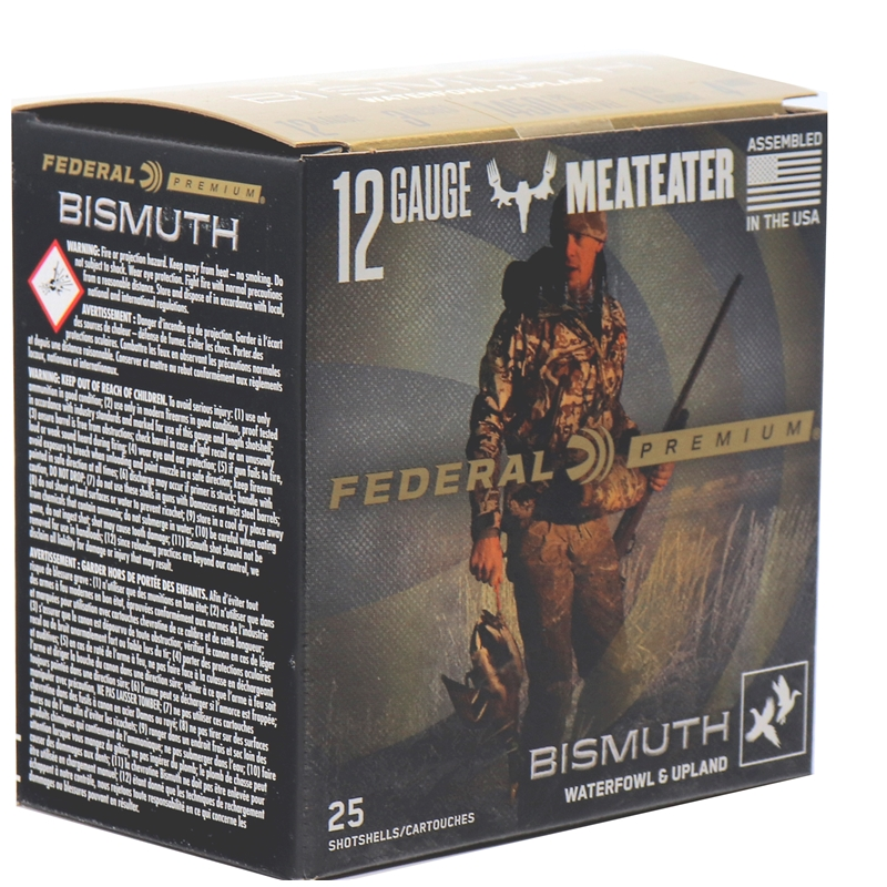 "Federal Premium Bismuth 12 Gauge Ammo 3"" 1 3/8 oz oz. #5 Waterfowl and Upland"