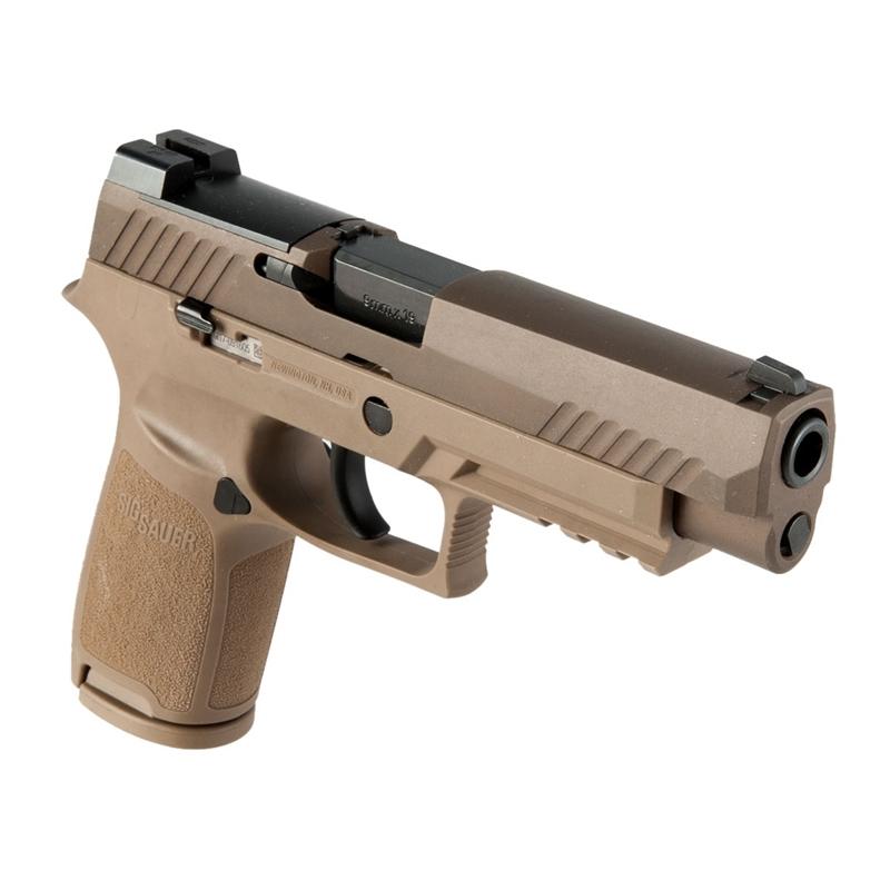 Sig Sauer P320 M17 9mm Luger Semi-Auto Handgun 17 Rounds Cayote