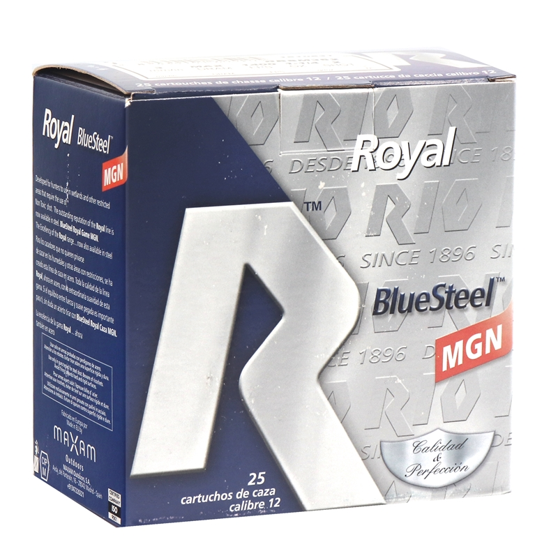 "RIO Royal Blue Steel Magnum 12 Gauge Ammo 3"" 1-1/4oz #2 Shot"