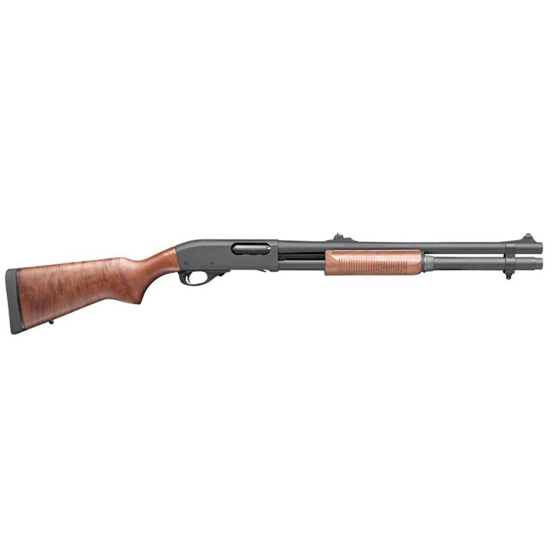 """Remington 870 Police 12 Gauge Pump Action 20"""" Barrel 7+1 Rounds Improved Cylinder Rifle Sights Walnut"""