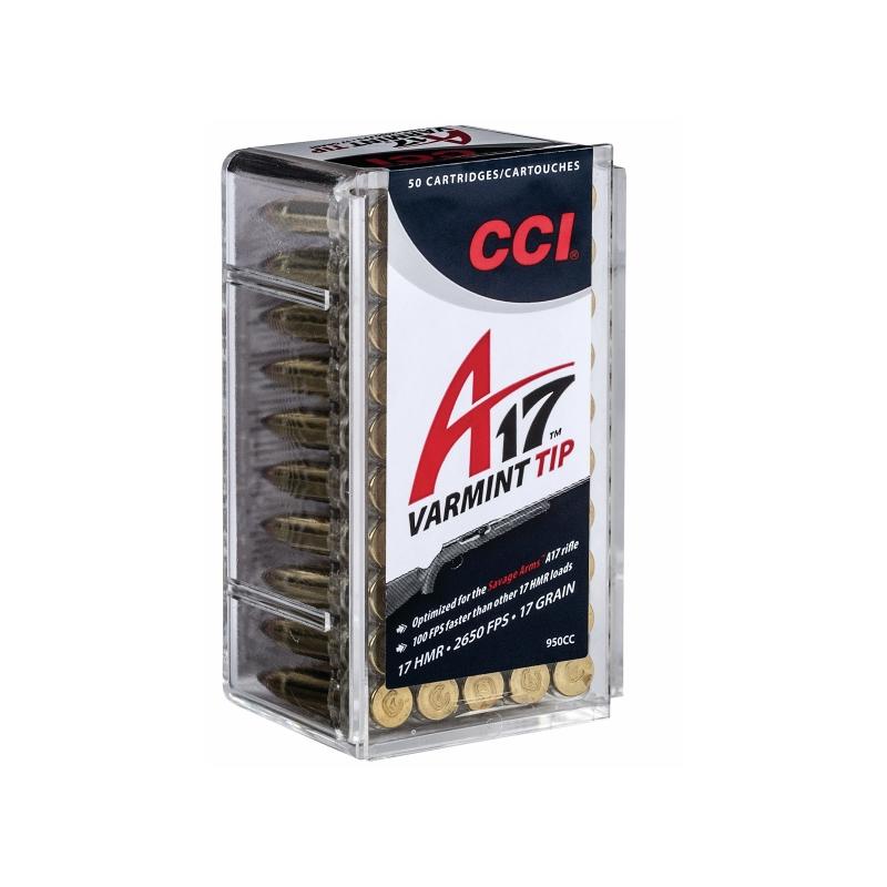 CCI 17 HMR Ammo 17 Grain Varmint Tip A17