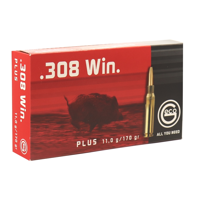 Geco Plus 308 Winchester Ammo 170 Grain Bonded Hollow Point
