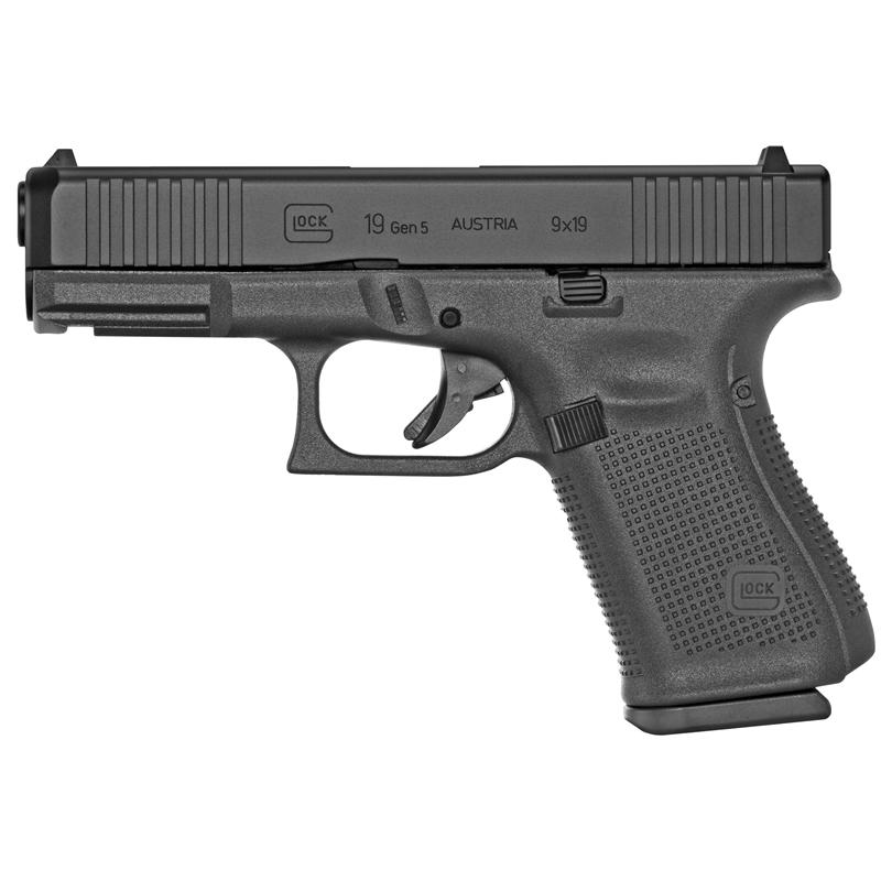 "Glock G19 Gen5 9mm Luger Semi-Auto 15 Rds 4"""