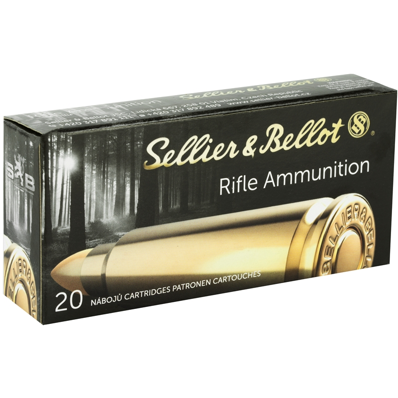 Sellier & Bellot 7.62x39mm Ammo 124 Grain Soft Point
