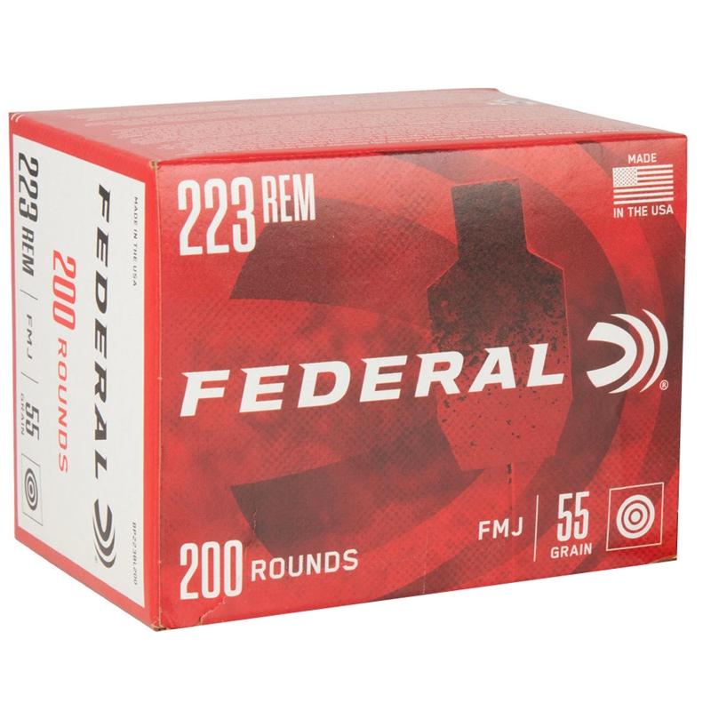 Federal American Eagle 223 Remington Ammo 55 Grain Full Metal Jacket Value Pack of 200