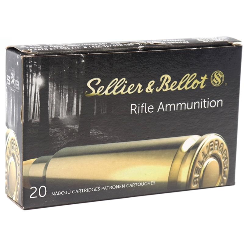 Sellier & Bellot 6.5×55mm Swedish Mauser Ammo 140 Grain FMJBT