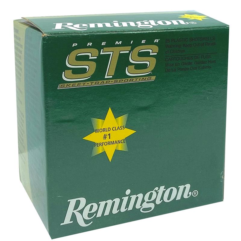 """Remington Premier STS 20 Gauge Ammo 2 3/4"""" 7/8oz. #8 Shot Target Load"""