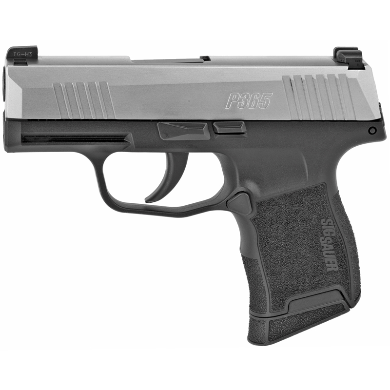 Sig Sauer P365 Sub-Compact 9mm Luger Semi-Auto 10 Rounds 3.1 Night Sites Stainless/Black Finish