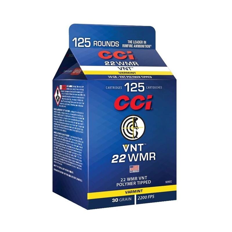 CCI Maxi-Mag Pour Pack 22 WMR Ammo 30 Grain Tipped Varmint