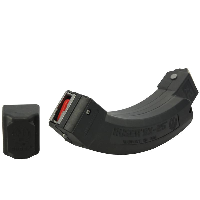 Ruger 10/22 BX-25x2 22 LR Magazine Tandem 25 Rounds Polymer Black Finish