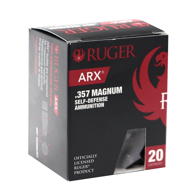 Ruger ARX 357 Magnum Ammo 86 Grain Polymer ARX Projectile