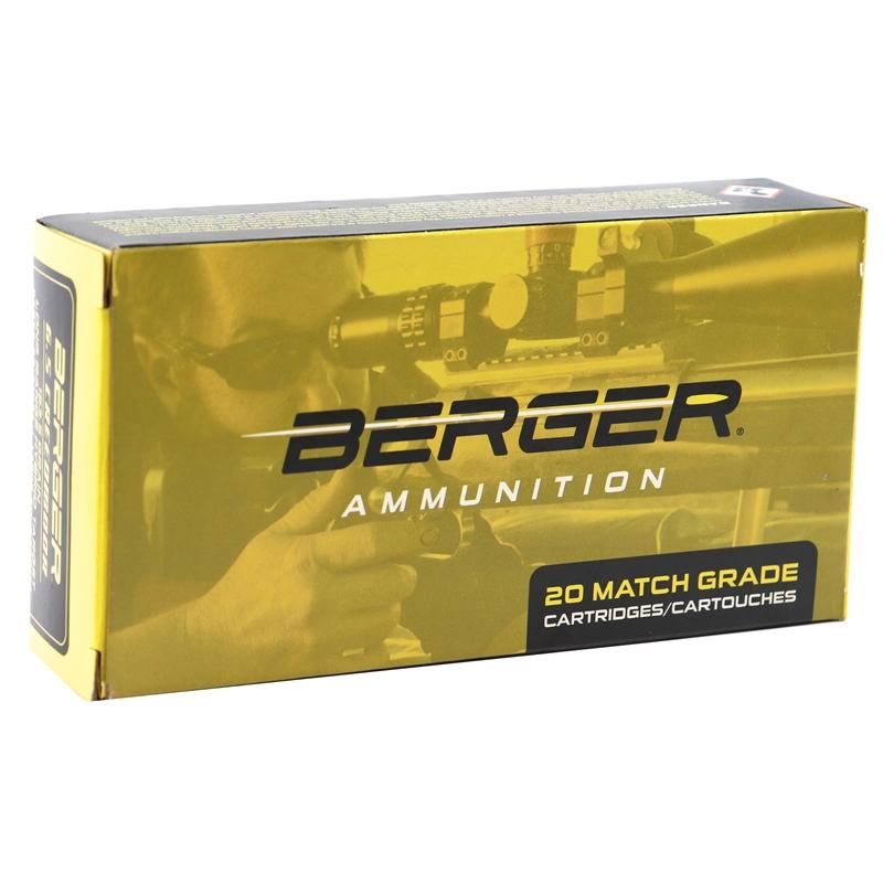 Berger Long Range 6.5 Creedmoor Ammo 153.5 Grain Hybrid Target