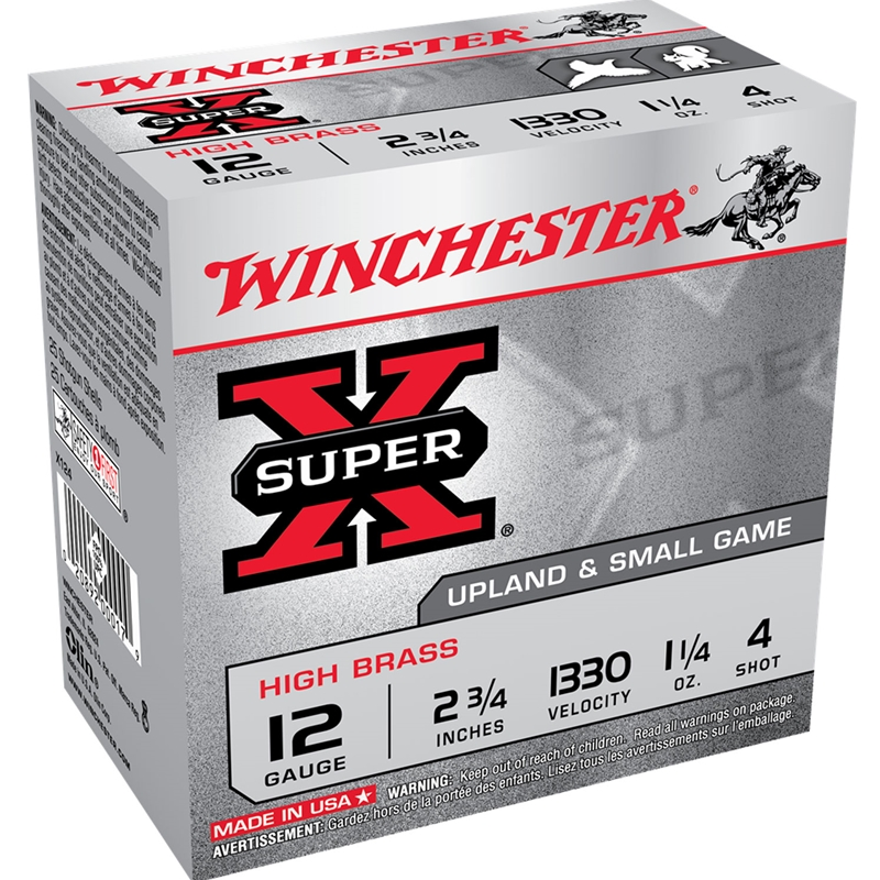 "Winchester Super-X High Brass 410 Bore 2-1/2"" 1/2 oz #6 Shot"