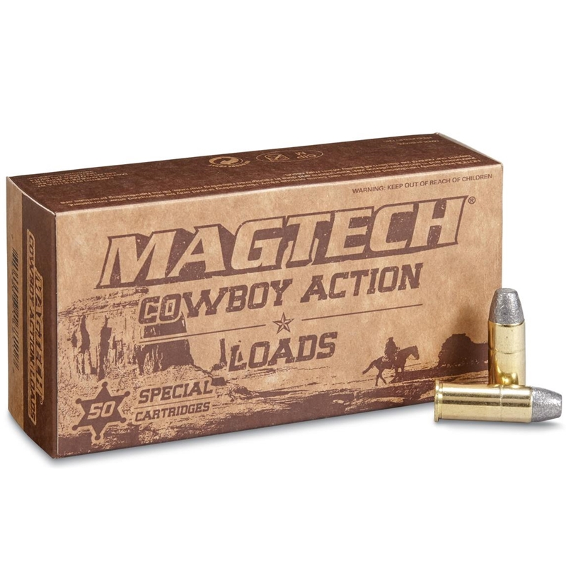 Magtech Cowboy Action 44 Special Ammo 240 Grain Lead Flat Nose