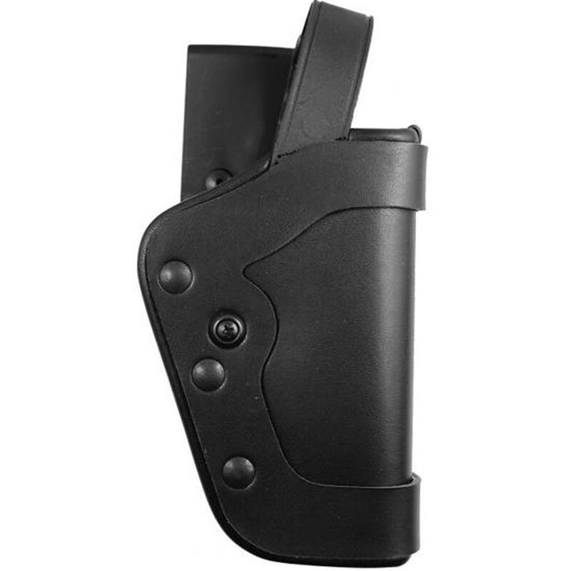 Uncle Mikes Slimline PRO-3 Holster, Mirage Plain, Right Hand, Black - Fits Glock 17, 19, 22, 23, 31