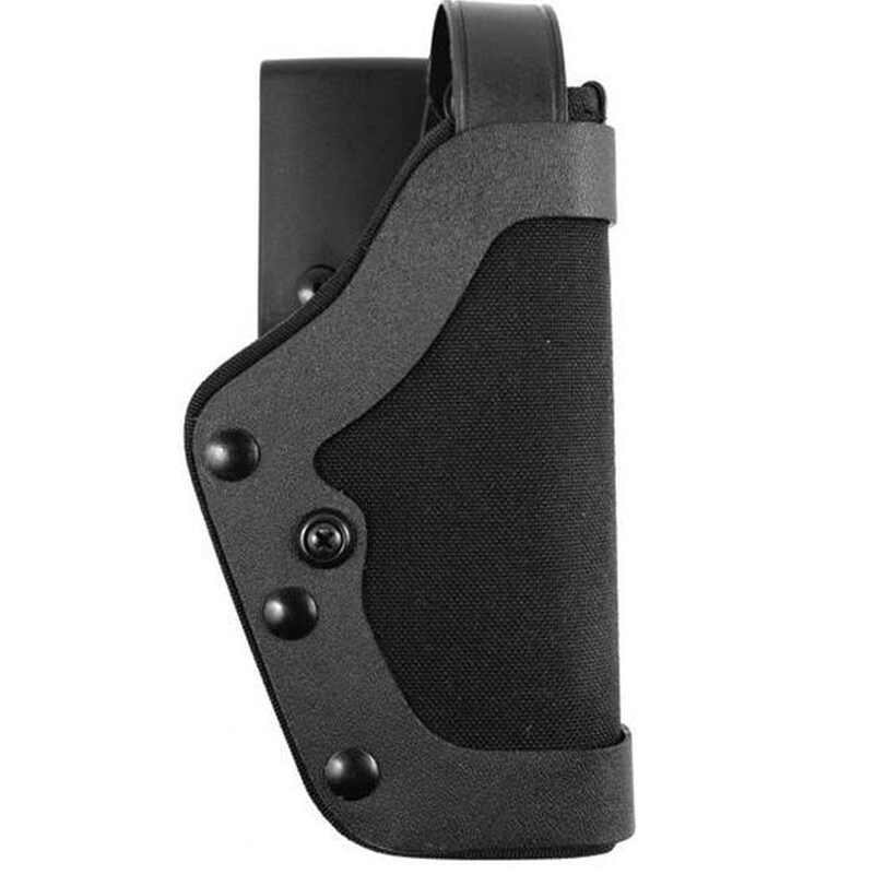 Uncle Mikes Slimline PRO-3 Holster, Kodra Nylon, Right Hand, Black - Fits HK USP 9mm, .40, .45, USP Compact, Walther P99
