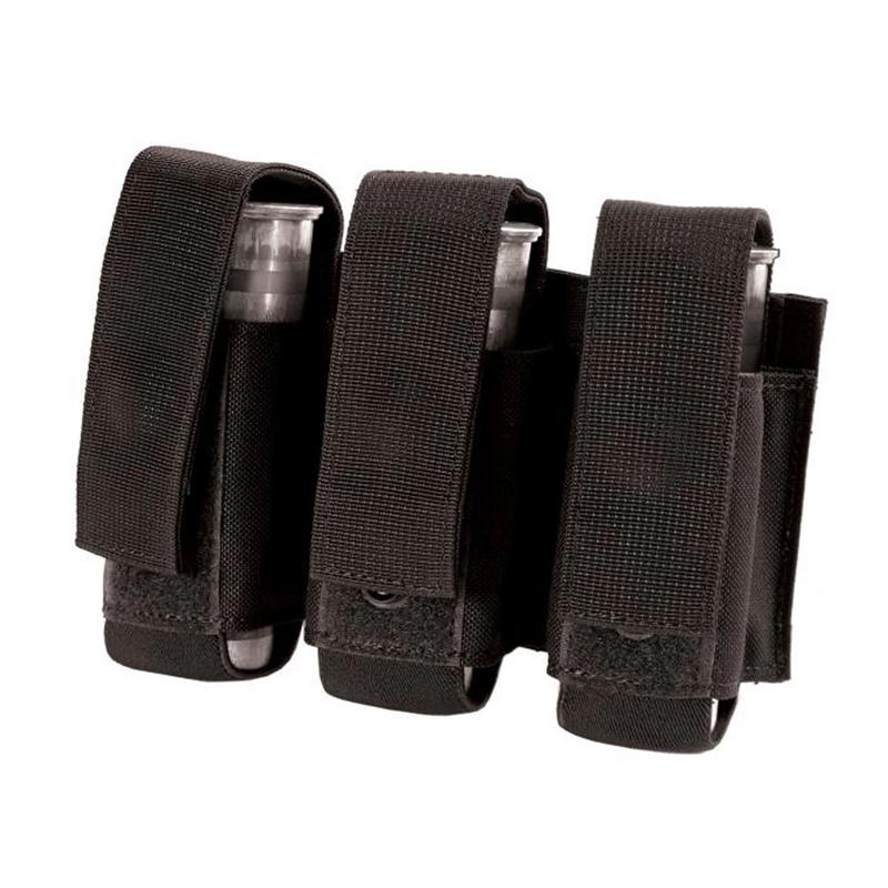 BlackHawk S.T.R.I.K.E. Gen-4 MOLLE System Triple 40MM Grenade Pouch, Black