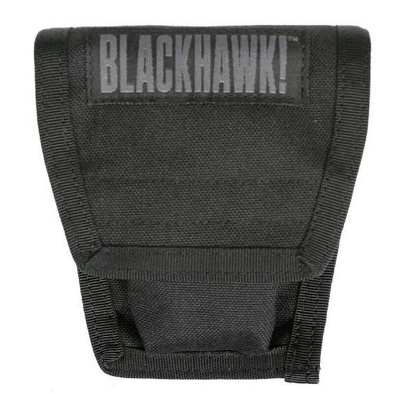 Blackhawk S.T.R.I.K.E. Double Handcuff Pouch, Black