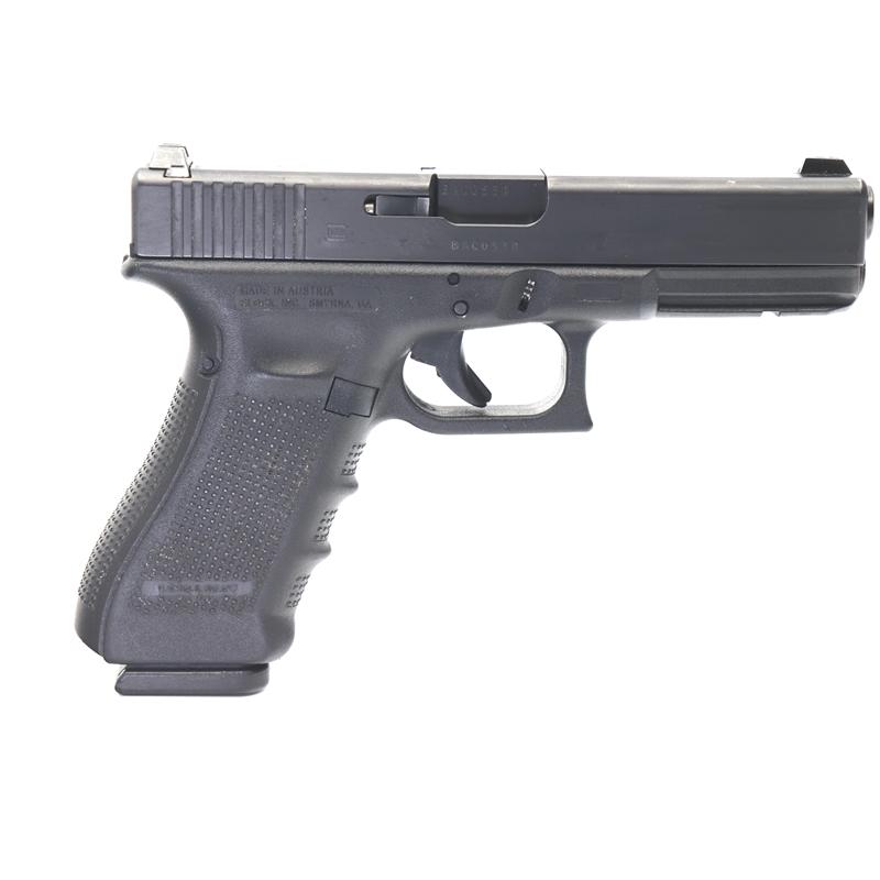 """GLOCK 17 Gen4 9mm USED Handgun 9 mm 17 Round 4-1/2""""BBL NS Police Trade In"""