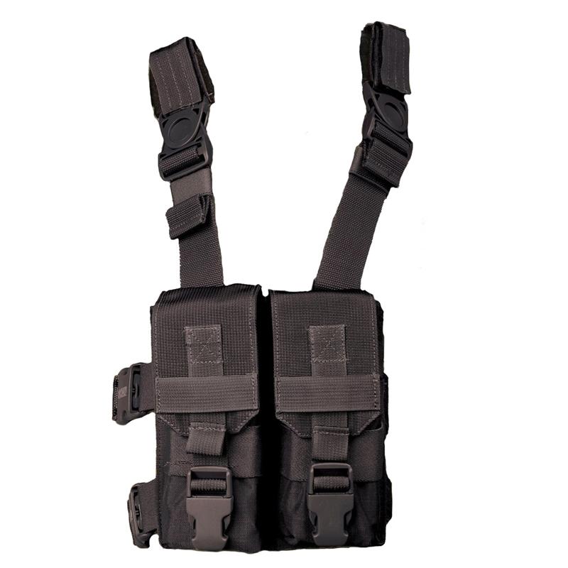 """Blackhawk M16 """"y"""" Thigh Rig Holds (4) M1 6 mags"""