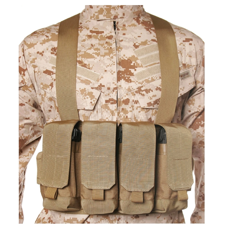 Blackhawk Chest Pouches AK47 Holds 4 mags & 2 pistol mags