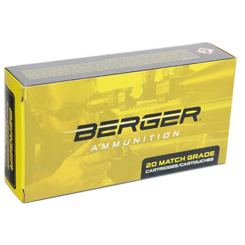Berger Long Range 6mm Creedmoor 109 Grain Hybrid Target