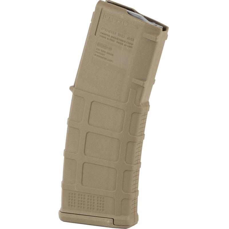 Magpul PMAG Gen M3 AR-15 5.56mm Magazine 30 Rounds Medium Coyote Tan