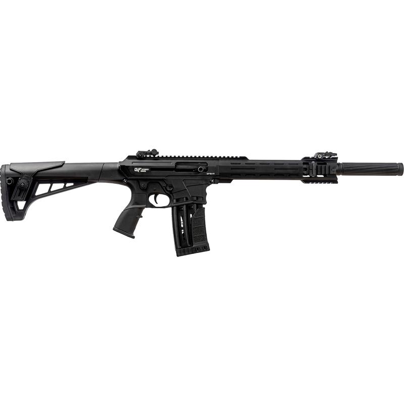 """Gforce AR Type Semi Auto 12 Gauge Shotgun 5 Round 20"""" Barrel Black"""