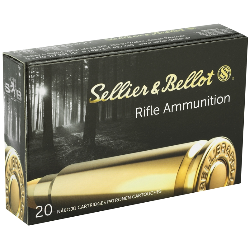 Sellier & Bellot 30-06 Springfield Ammo 180 Grain Soft Point Cutting Edge Projectile