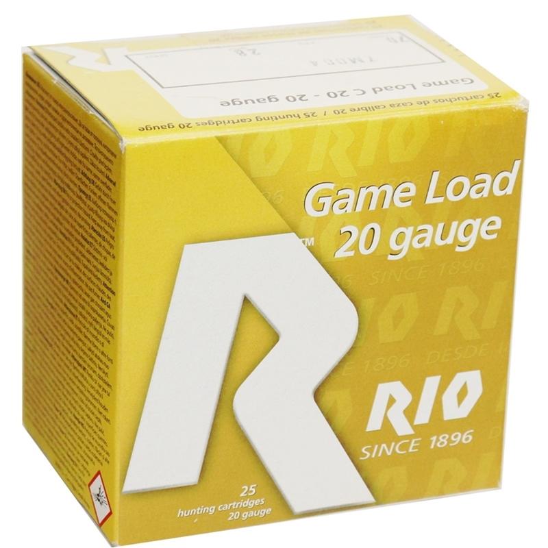 """Rio Game Load 20 Gauge Ammo 2-3/4""""  1oz #7 Shot 250 Round Case"""