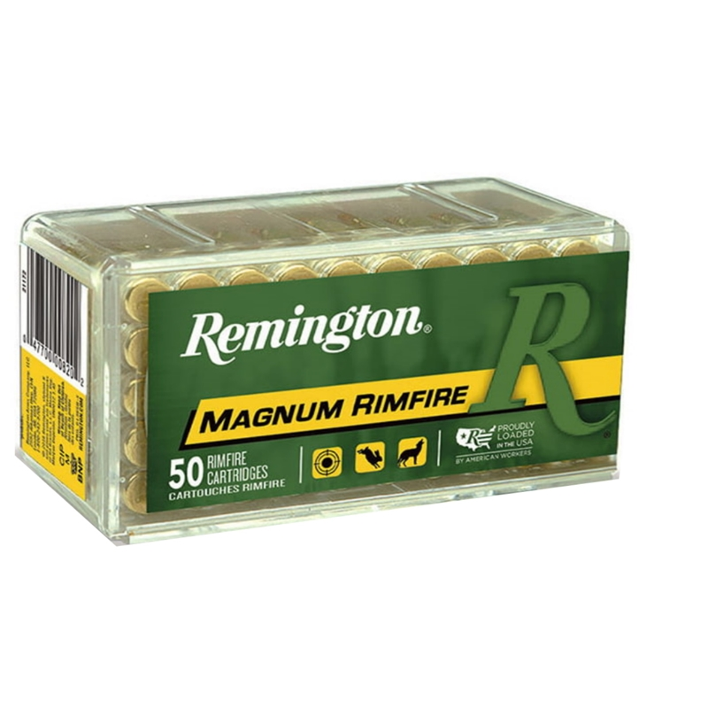 Remington 22 WMR Ammo 40 Grain Pointed Soft Point