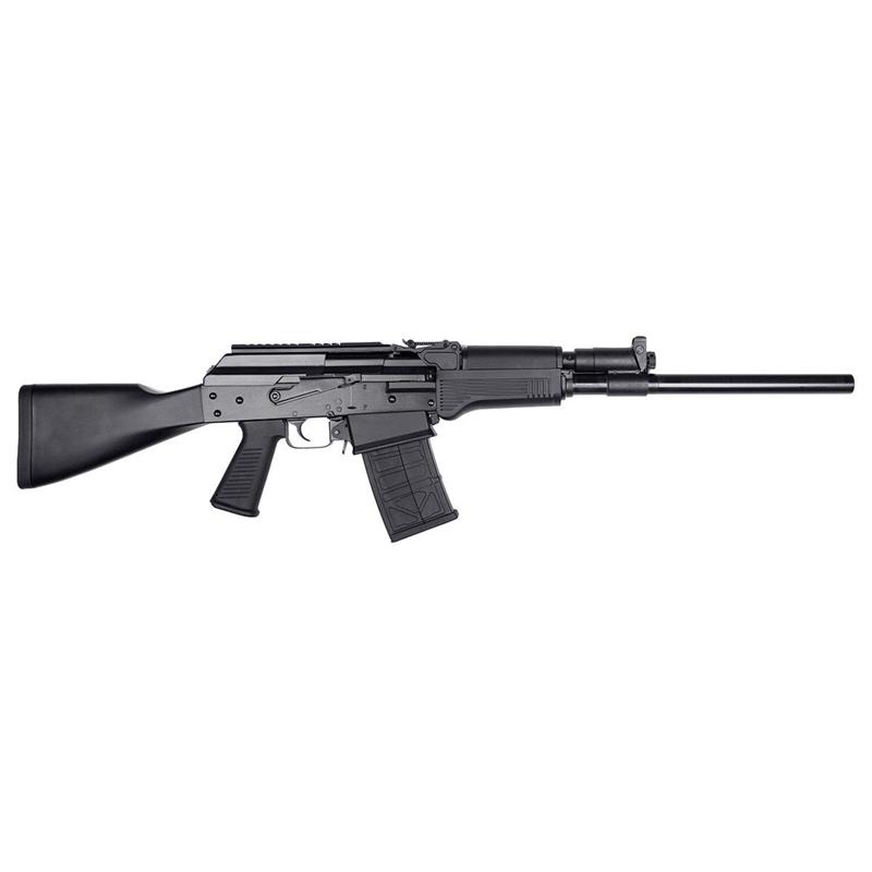 "JTS Group 12 Gauge Semi-automatic Shotgun 18.7"" Barrel 3' Chamber 5 Rounds Polymer Furniture Matte Black"
