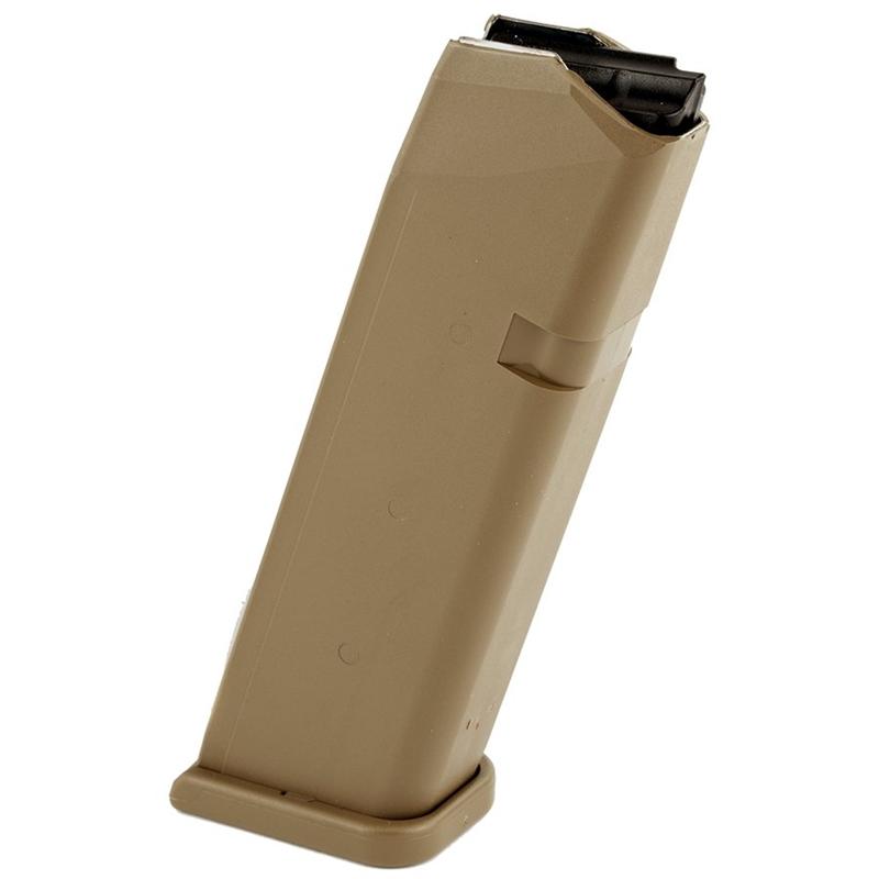 Glock 19X 9mm Luger 17 Round Magazine Coyote Brown