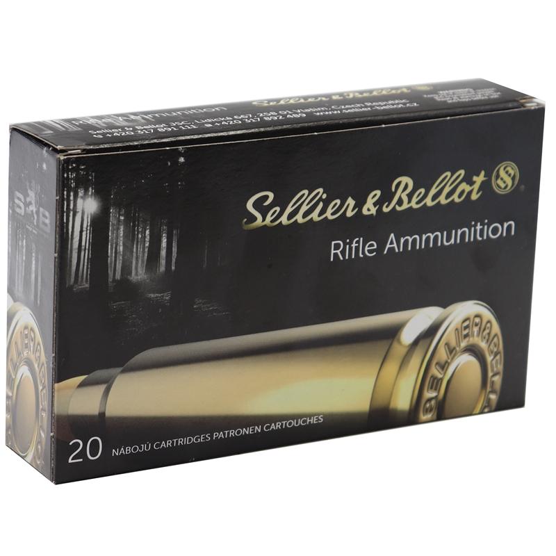 Sellier & Bellot 7mm Rem Mag Ammo 175 Gr Nosler Partition