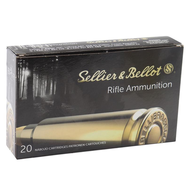 Sellier & Bellot Rifle 7mm Remington Magnum Ammo 140 Grain Soft Point