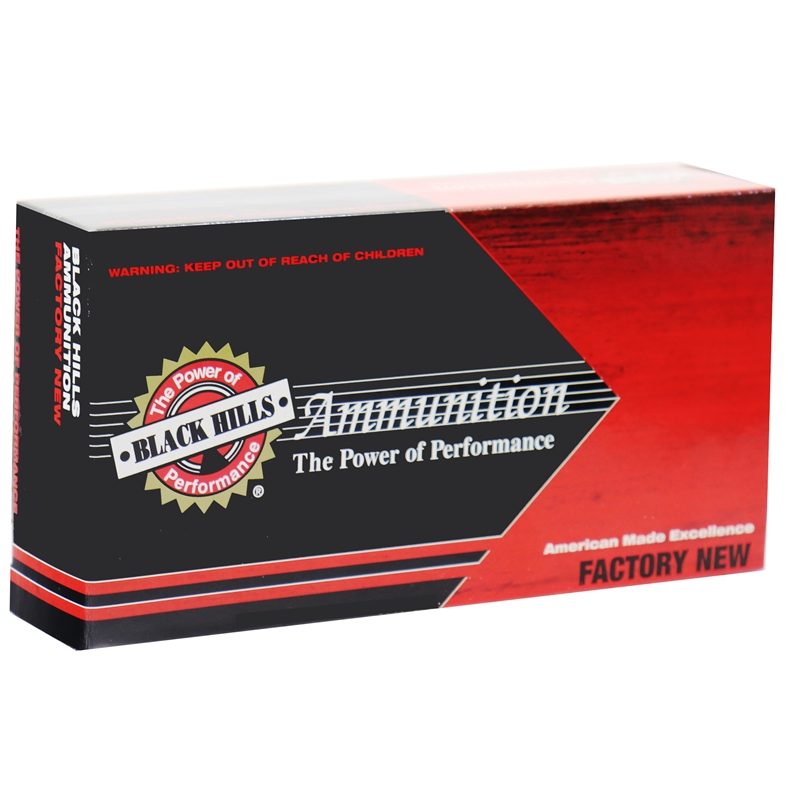 Black Hills Match 7.62mmx51mm Ammo 168 Grain Hollow Point Boat Tail