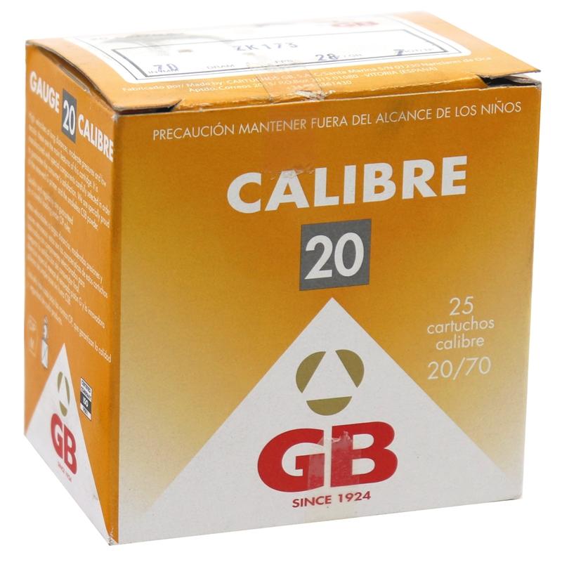 "GB Load 28 20 Gauge Ammo 2 3/4"" #7 Shot 250 Rounds"