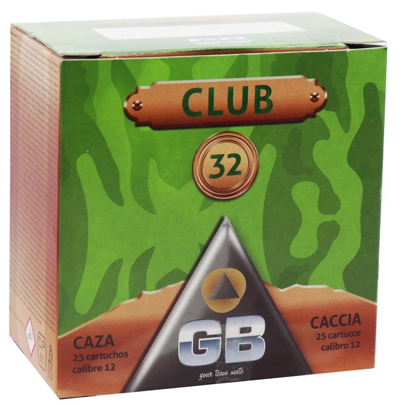 "GB Club 32 12 Gauge Ammo 2 3/4"" #5 Shot 250 Rounds"