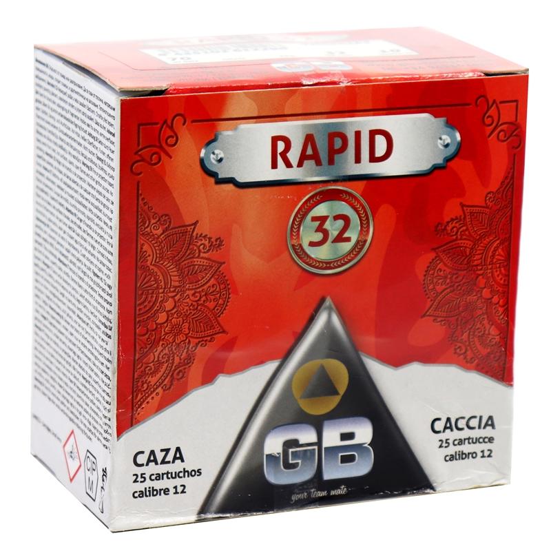 """GB Rapid 32 12 Gauge Ammo 2 3/4"""" #10 Shot 250 Rounds"""