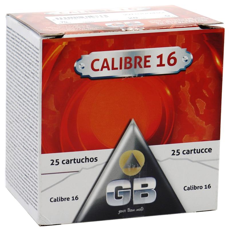 """GB Caliber 16 Gauge Ammo 2 3/4"""" #9 Shot 250 Rounds"""