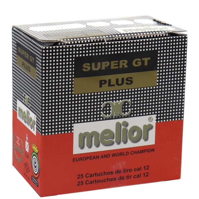 "Melior Super GY Plus 12 Gauge Ammo 2 3/4"" #8 Shot 250 Rounds"