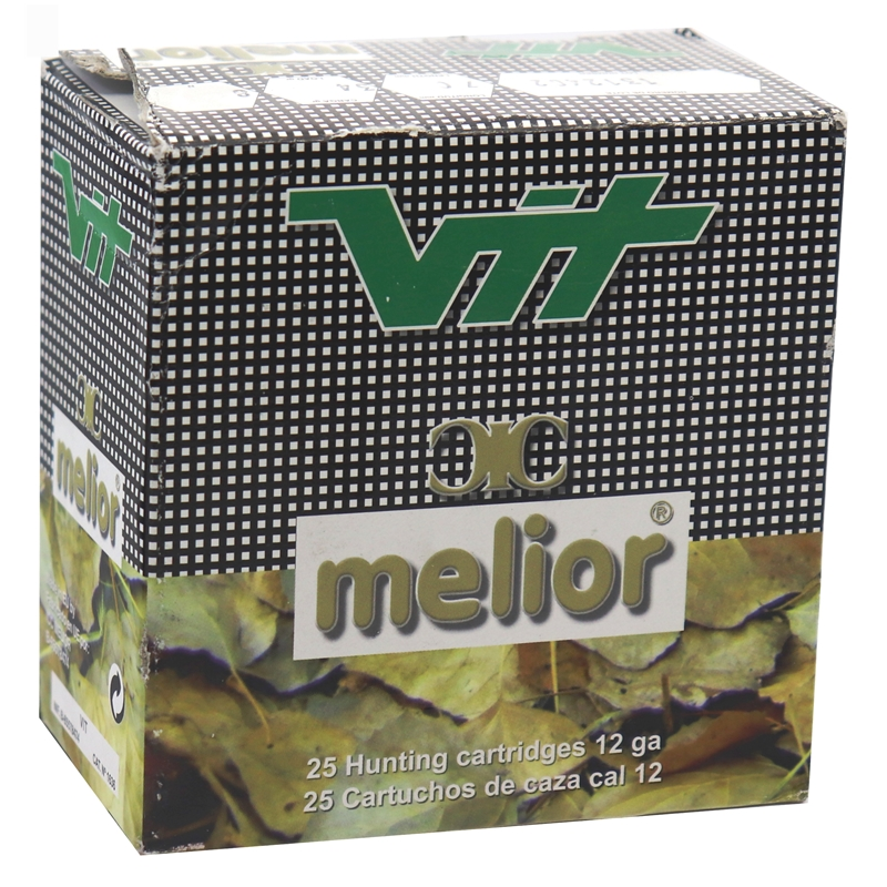 Melior VIT Transparent 34 12 Gaugen 2 3/4 #8 Shot 250 Rounds