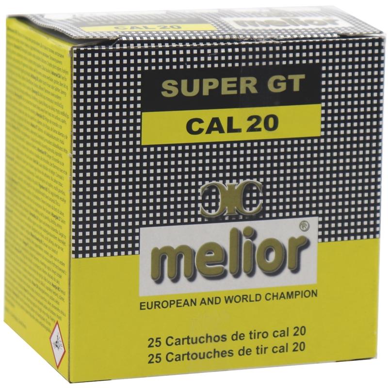 Melior Super GT 20 Gauge 2 3/4 1 oz. #7.5 Shot 250 Rounds