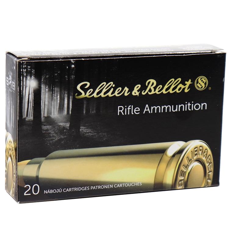Sellier & Bellot 30-06 Springfield Ammo 150 Grain Soft Point Cutting Edge
