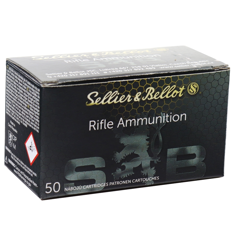 Sellier & Bellot 30 Carbine Ammo 110 Grain Soft Point