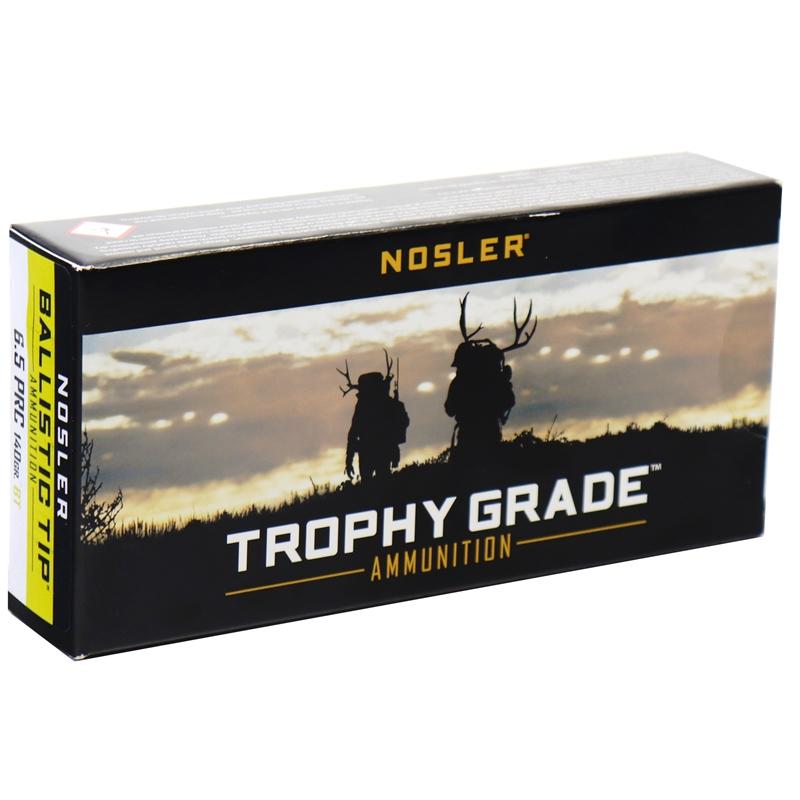 Nosler BT Trophy Grade 6.5 PRC Ammo 140 Grain Ballistic Tip