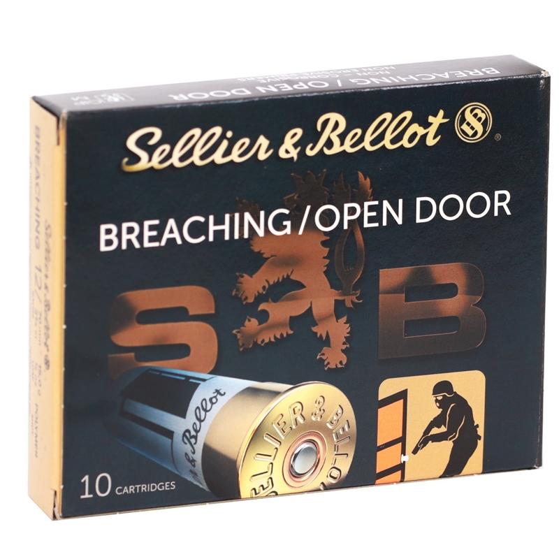 "Sellier & Bellot Breaching 12 Gauge Ammo 2 3/4"" 1/2 oz. Polymer Shot"