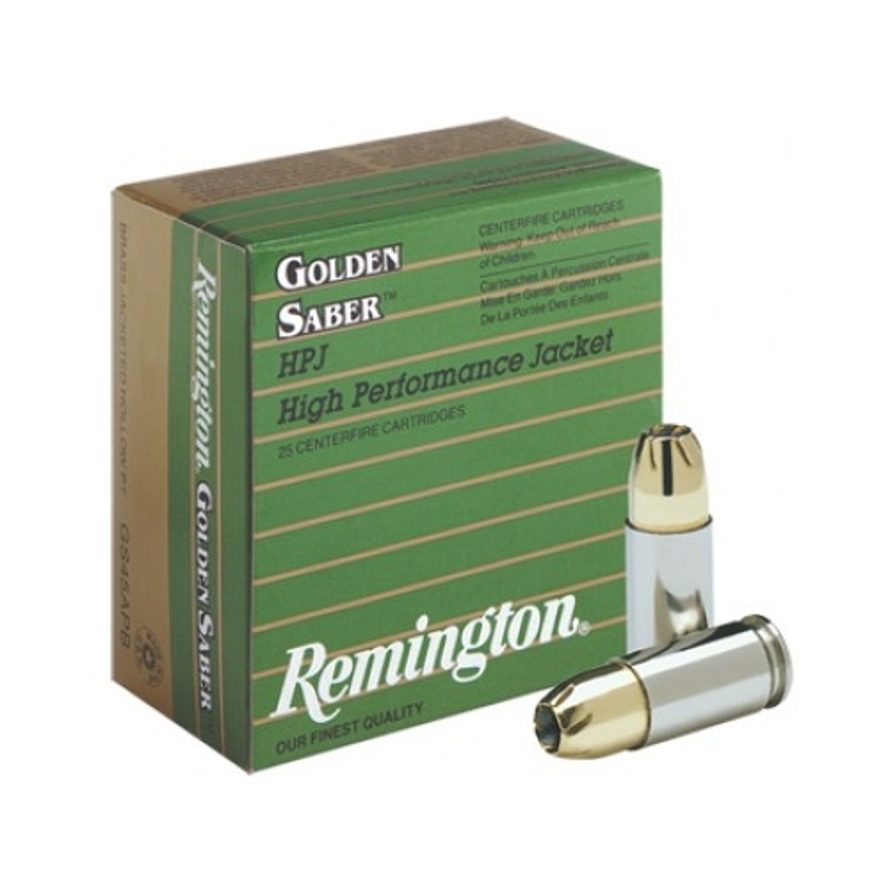 Remington Golden Saber 9mm Luger Ammo 147 Grain BJHP