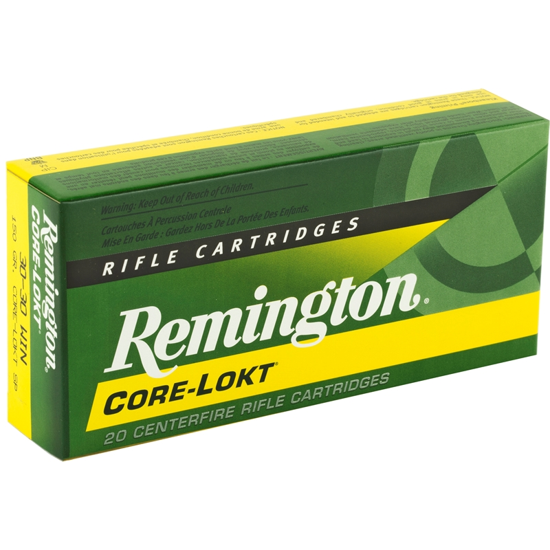 Remington Express 30-30 Winchester Ammo 150 Grain Core-Lokt SP